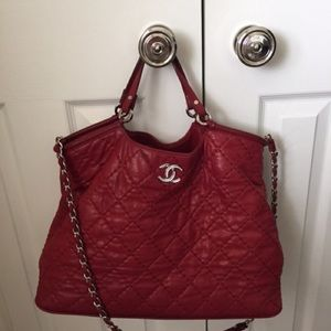 Chanel crossbody tote